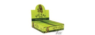 Zig Zag Organic Hemp KS Papers Box/24