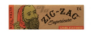 Zig Zag Unbleached 1 1/4 Rolling Papers