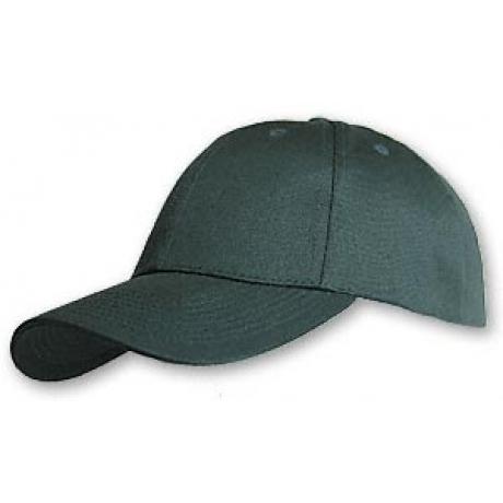 Hemp/Organic Cotton Baseball Cap - Structured Green