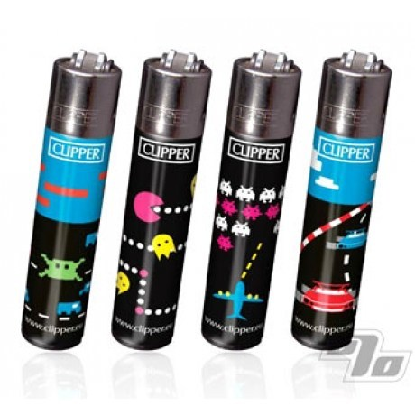 Clipper Lighter Atari designs