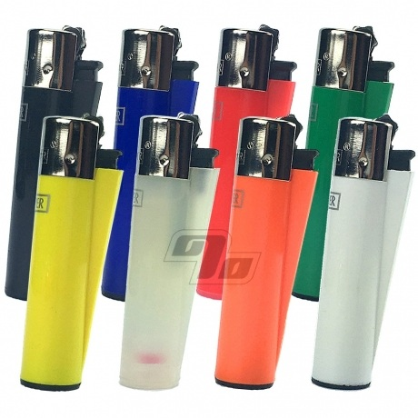 Clipper Lighters in 8 solid colors