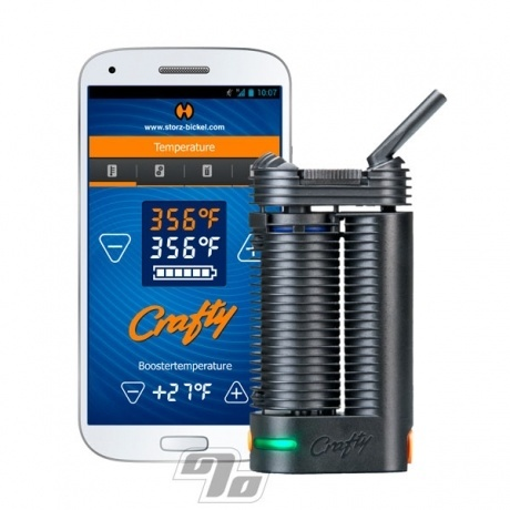 Crafty Vaporizer android app by Volcano