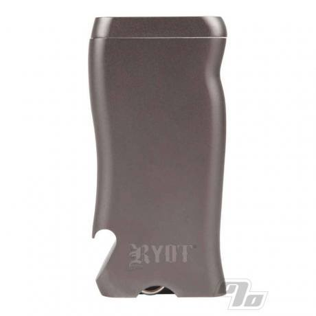 RYOT Gun Metal Aluminum Dugout with Poker