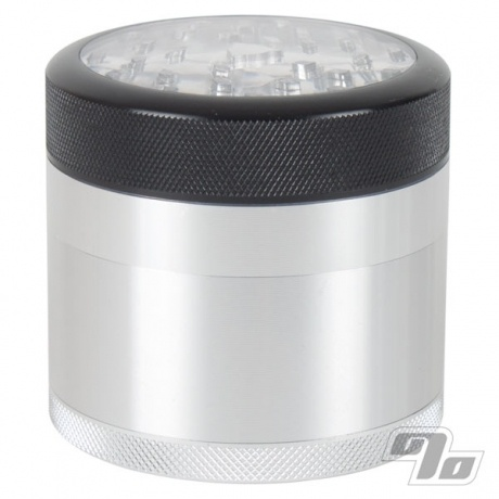 Kannastor Clear Top 2.5in Grinder/Sifter/Storage 4pc