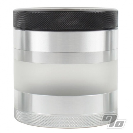 Kannastor 2.5in 4pc Grinder Sifter w/ FROSTED Jar