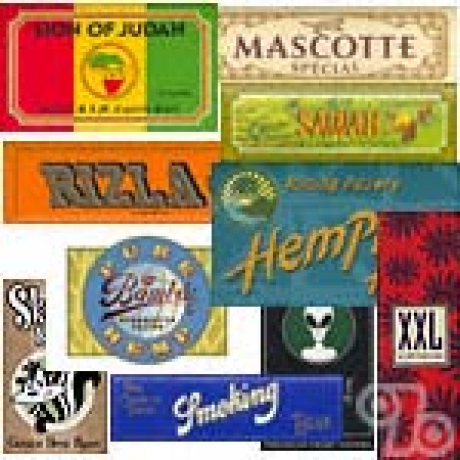 Assorted 10 Pack of Rolling Papers