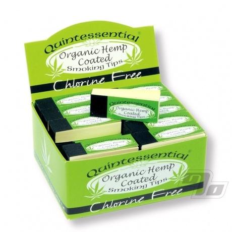 Quintessential Hemp rolling tips box of 50 packs