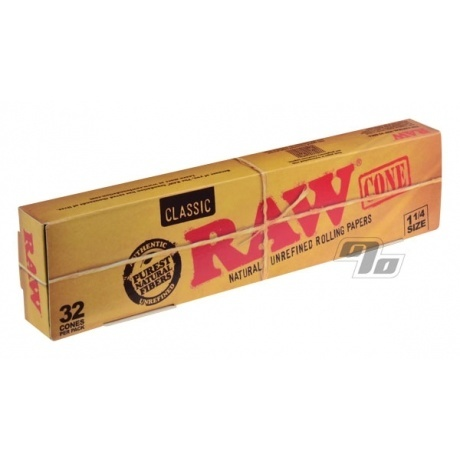 RAW Pre-Rolled Cones Party Pack 1 1/4 size