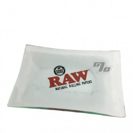 RAW Mini Glass Rolling Tray