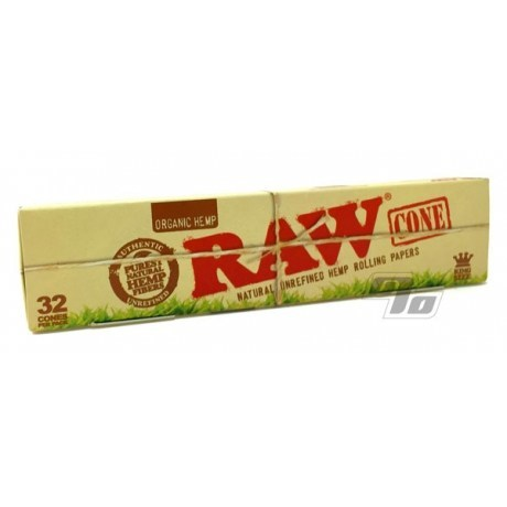 RAW Organic Hemp King Size Cones Party Pack