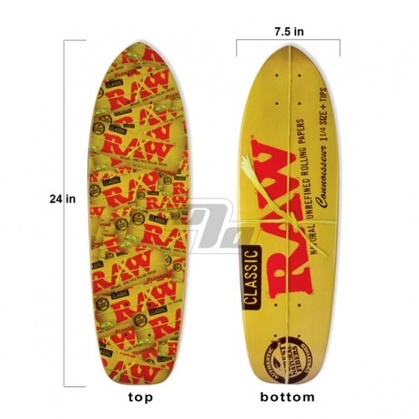 RAW Skateboard. Limited Edition Raw skateboard. Also known as the Mini Rawboard