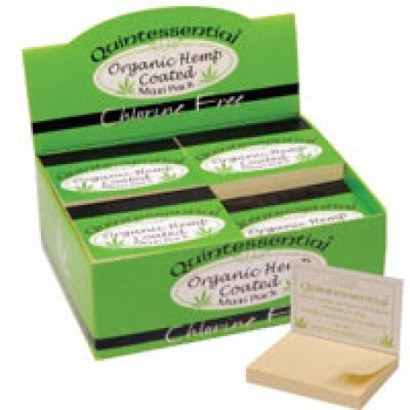 Quintessential Maxi Hemp Filter Tips Box of 20