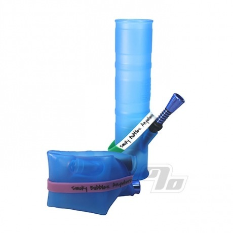 Roll-uh-Bowl Waterpipe in Blue