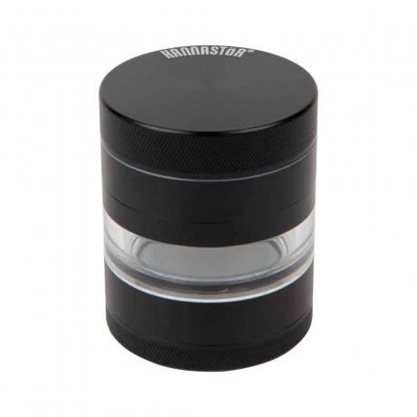 Kannastor 2.2in Grinder/Jar Black 4pc