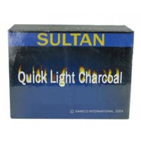 Box of 100 33mm Sultan Hookah Charcoal