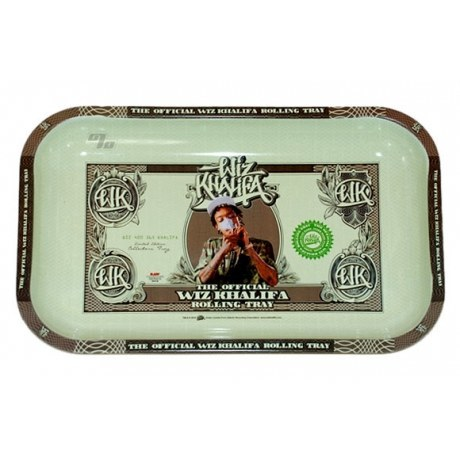 Wiz Khalifa RAW Rolling Tray Metal Small