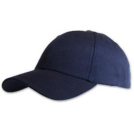 Hemp/Organic Cotton Baseball Cap - Structured Blue
