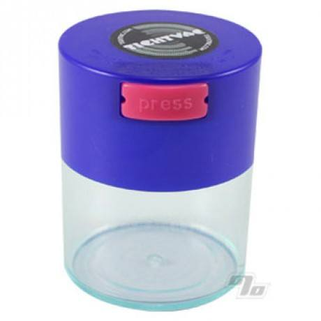 Small Clear Tightvac smell proof herb container