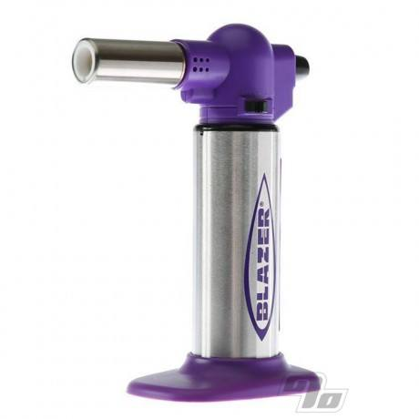 Blazer Big Buddy Torch in Purple and Stainless