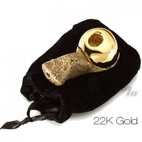 22kt Gold/Lava Celebration Pipe