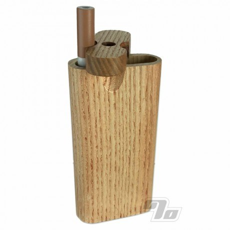 Classic wood dugouts in Zebrawood with cigarette bat