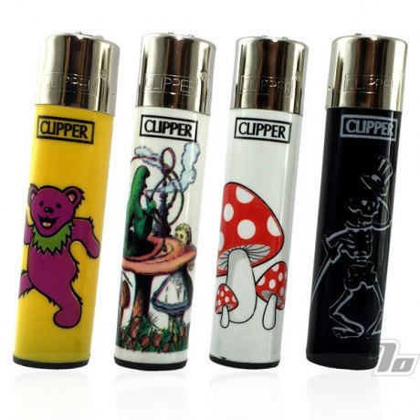 Clipper Lighters Dancing Bears Dead