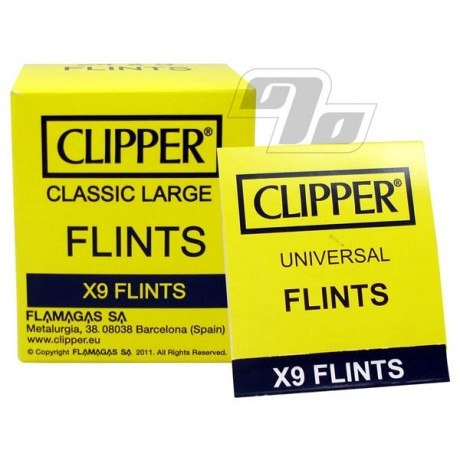 Replacement Clipper Flints for Clipper Lighters