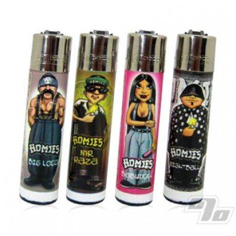 Clipper Lighters - Homies