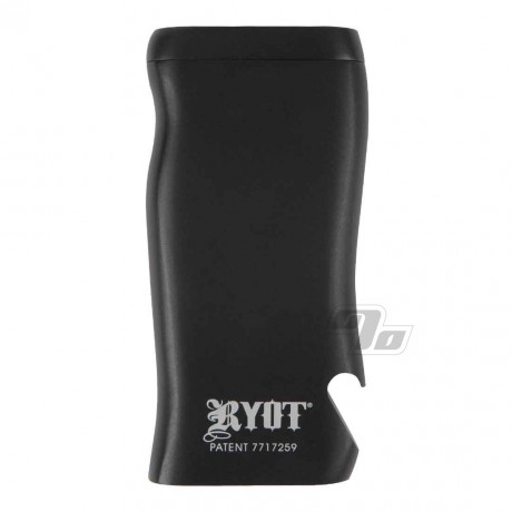 RYOT Black Aluminum Dugout with Poker