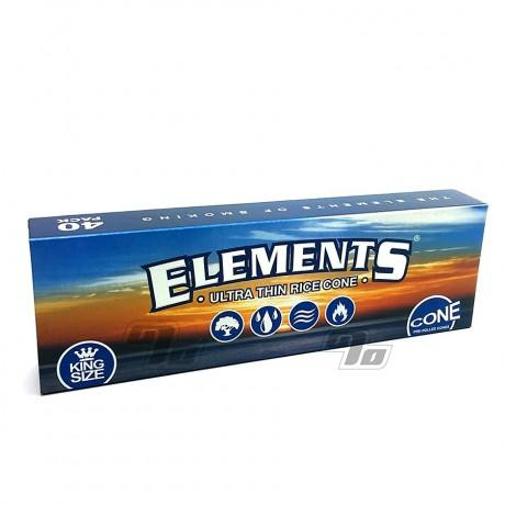 Elements King Size Cones 40 Pack