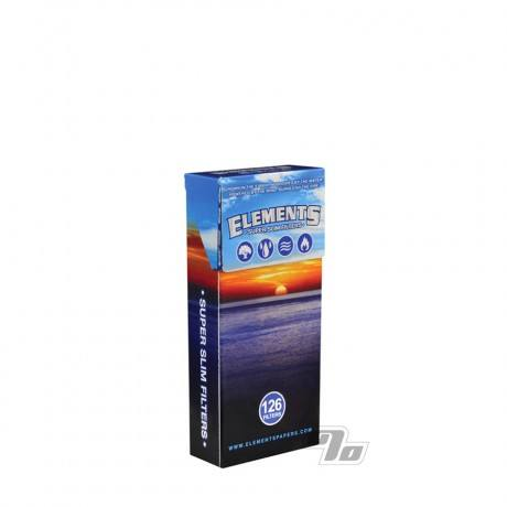 Elements Super Slim Cigarette Filters 126 pack