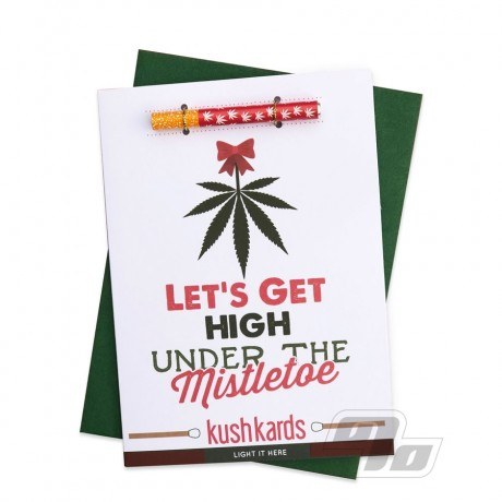 High Under The Mistletoe Kush Hitter Kards