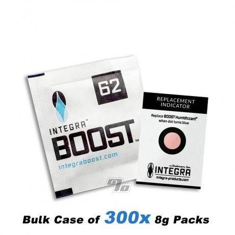 Integra Boost 62% 2-Way Humidity Regulator 8 gram case of 300 packs
