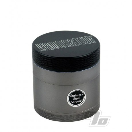 Kannastor 2.2in Grinder/Jar Black 4pc