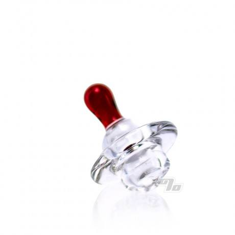 MTP Glass Directional Carb Cap red
