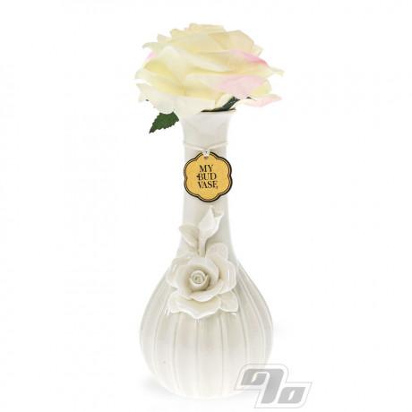 Ivory Rose waterpipe from My Bud Vase