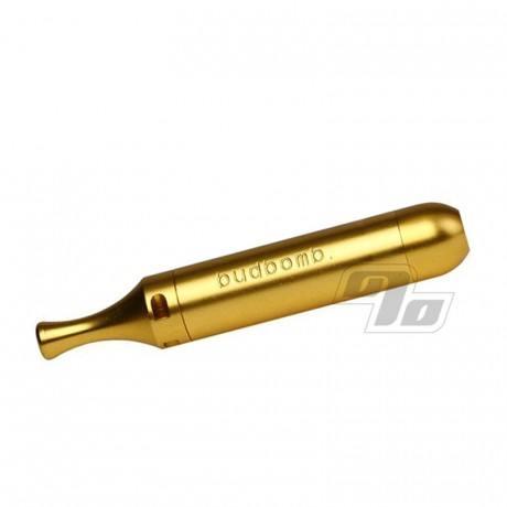 The Original BudBomb pipe in Gold