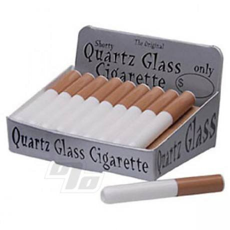 Original Quartz Cigarette Glass One Hitter Bats wholesale box of 20