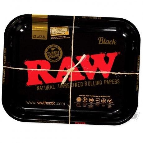 RAW Black Rolling Tray