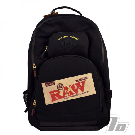 RAW Black Smell Proof BakePack