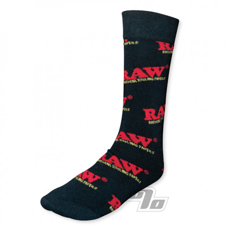 RAW Black Socks from RAW Rolling Papers