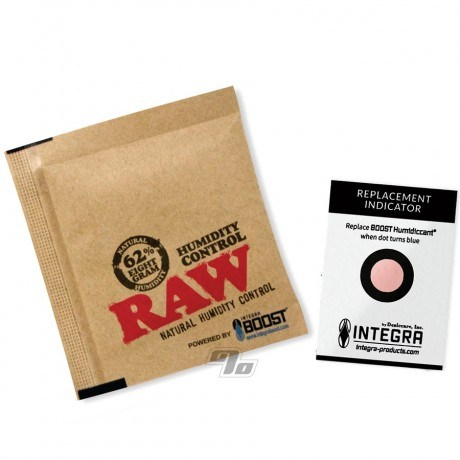 RAW x BOOST 62% Humidity Control 8 gram Pack