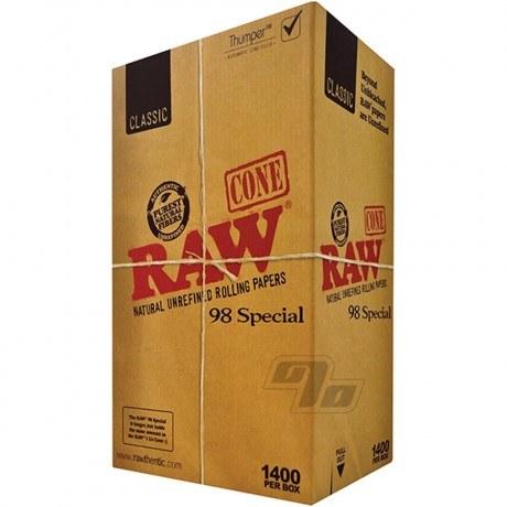RAW 98 Special Cones 1400 Bulk Pack