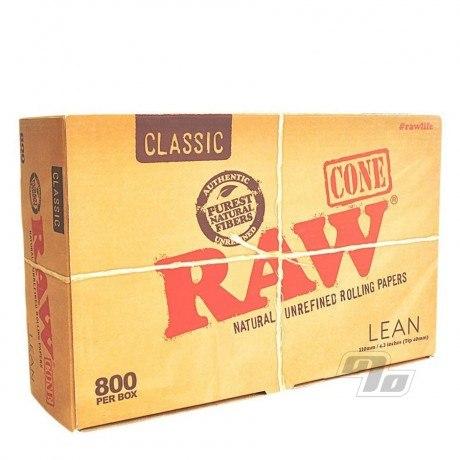 RAW Lean Cones 800 Bulk Pack