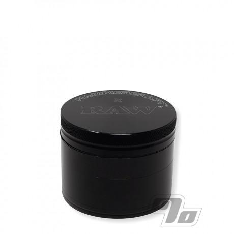 RAW x Hammercraft Herb Grinder Black 2.5 inch