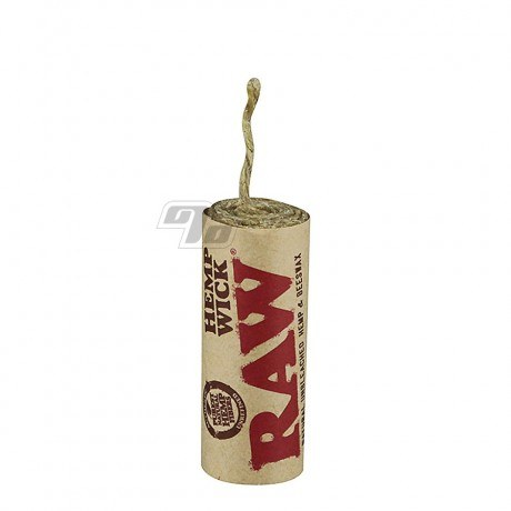 RAW Natural Hemp Wick from RAW Rolling Papers