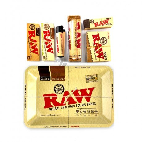 RAW Rolling Papers Gift Bundle