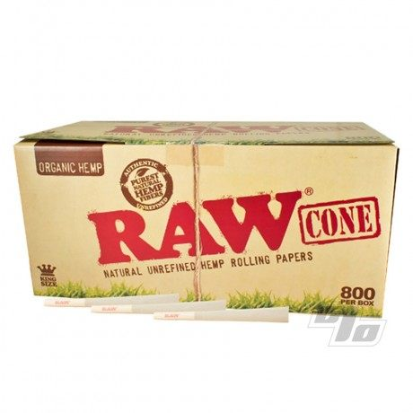 RAW King Size Cones 800 Pack from RAW Rolling Papers