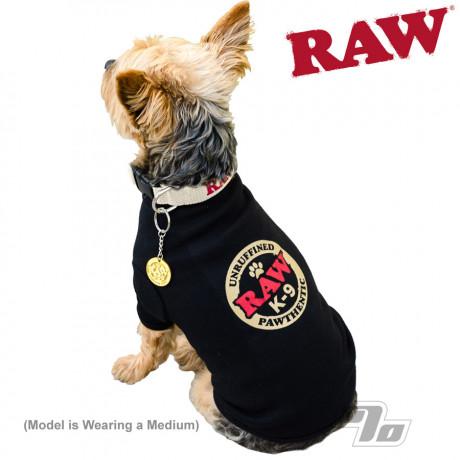 RAW K-9 Dog Ringer T-Shirt for Medium dogs