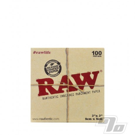 RAW Parchment Squares 3x3in Pack of 100